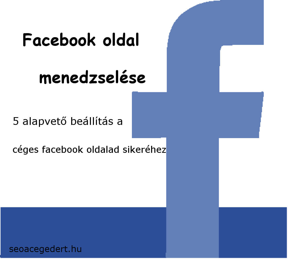 facebook oldal menedszelése