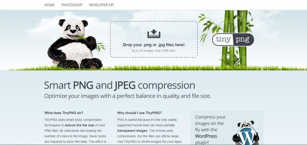 Képméret optimalizáló- TinyPNG