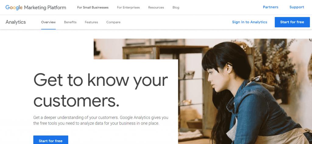 google-analytics-kezdo-felulet