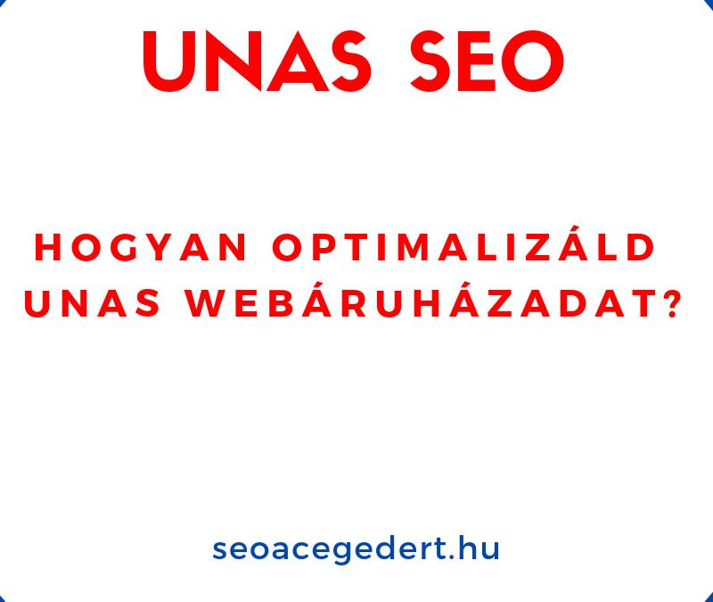 UNAS SEO – UNAS webáruházak keresőoptimalizálása